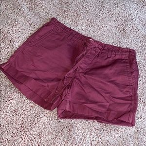 Loft Plum Shorts